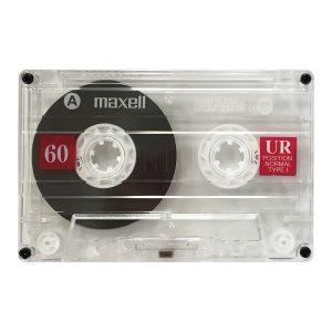 Maxell 109024 UR60 Cassette Tape (2 Pack)