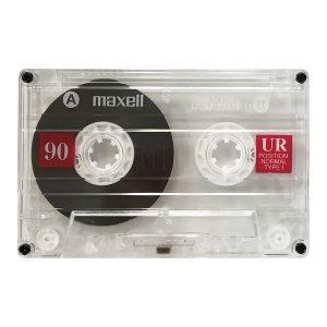 Maxell 108562 UR90 Cassette Tapes (5 Pack)