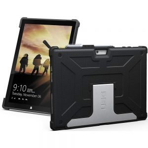 URBAN ARMOR GEAR UAG-SFPRO4-BLK-VP Rugged Case for Microsoft Surface Pro - Black
