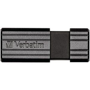 Verbatim 49063 PinStripe USB Flash Drive (16GB)
