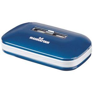 Manhattan 161039 7-Port Ultra USB 2.0 Hub