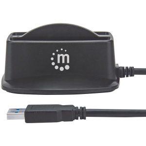 Manhattan 151955 SuperSpeed USB 3.0 Dual 2.5-Inch SATA HDD Dock