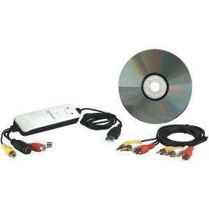 Manhattan 162579 USB Audio/Video Grabber