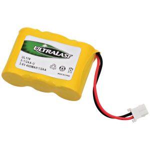 Ultralast 3-1/2AA-U 3-1/2AA-U Rechargeable Replacement Battery
