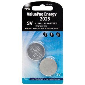 Dantona VAL-2025-2 ValuePaq Energy 2025 Lithium Coin Cell Batteries