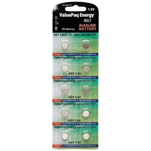 Dantona VAL-AG1-10 ValuePaq Energy AG1 Alkaline Button Cell Batteries