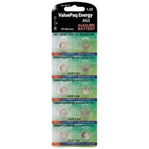 Dantona VAL-AG5-10 ValuePaq Energy AG5 Alkaline Coin Cell Batteries