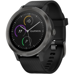 Garmin 010-01769-11 vivoactive 3 (Black with Slate Hardware)