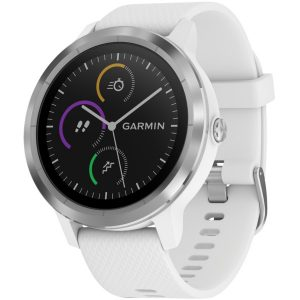 Garmin 010-01769-21 vivoactive 3 (White with Stainless Hardware)