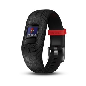 Garmin 010-01909-37 Marvel Spider-Man vivofit jr. 2 (Black)