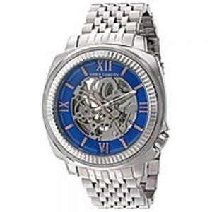 Vince VC/1069SV Exposed Automatic Bracelet Watch - Silver