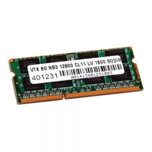 VisionTek 8GB DDR3L Low Voltage 1600 MHz (PC3-12800) CL11 SODIMM - Notebook - 8 GB (1 x 8 GB) - DDR3 SDRAM - 1600 MHz DDR3-1600/PC3-12800 - 1.35 V - Non-ECC - Unbuffered - 204-pin - SoDIMM