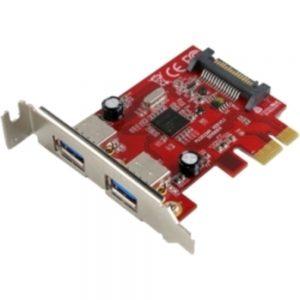 VisionTek USB 3.0 PCIe Expansion Card 2-port - PCI Express - Plug-in Card - 2 USB Port(s) - 2 USB 3.0 Port(s)