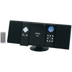 JENSEN JMC-180 Wall-Mountable CD System with AM/FM Stereo Receiver