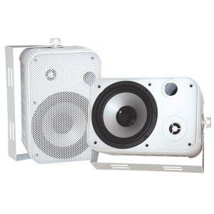"""Pyle PDWR50W 6.5"""" Indoor/Outdoor Waterproof Speakers (White)"""