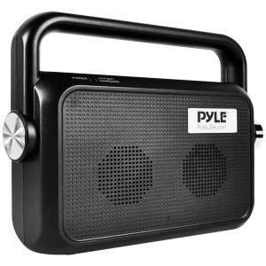 Pyle PTVSP18BK Slim Comfort Hearing Wireless TV Speaker