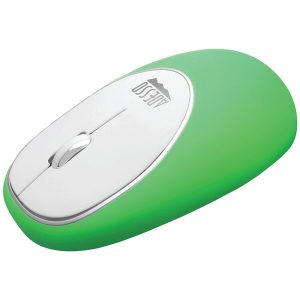 Adesso IMOUSE E60G iMouse E60 Wireless Antistress Gel Mouse (Green)