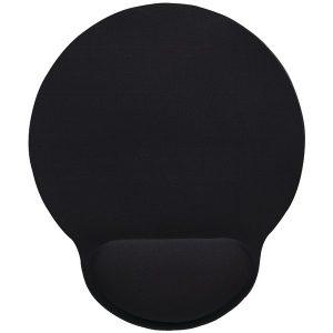 Manhattan 434362 Wrist-Rest Mouse Pad (Black)