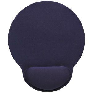 Manhattan 434386 Wrist-Rest Mouse Pad (Blue)
