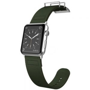 X-Doria 6950941456951 Field Band for 1.7-inch Apple Watch - Olive