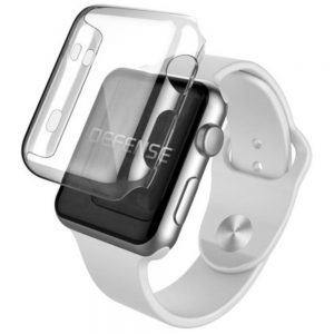 X-Doria 6950941461924 1.5-inch Defense 360 Bumper Screen for Apple Watch - Clear
