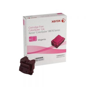 Xerox 108R00951 Colorqube Magenta Solid Ink 6x Sticks 6-Pack 108R00951