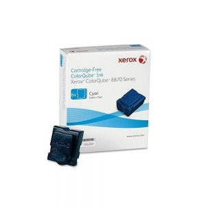 Xerox Colorqube 8870 Solid Ink Stick Cyan 6 Sticks 6-Pack 108R00950