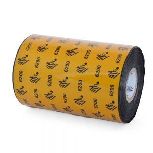 Zebra 6200 4.33 X 1476' Black Resin Ribbon Single Roll 06200BK11045-R