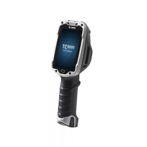 Zebra TC8000 BarCode Scanner 2D Wi-Fi 4 WVGA 1GB/4GB Android Kitkat Mobile Computer TC80N0-1000K210NA