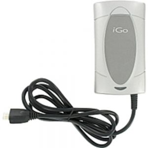 iGo PS00127-0001 Universal Netbook AC Adapter - 40W - 4 Interchangeable Tips - Silver