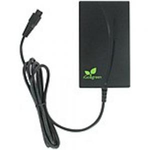 iGo PS00136-2007 90 Watts Universal Mini Notebook Wall Charger - USB Port - Interchangeable Tips - Black