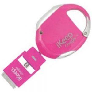 iKeep IK2PK Universal Smartphone Retract Charger for Blackberry