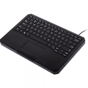 iKey IK-DELL-SA Keyboard - Cable Connectivity - USB InterfaceTouchPad - Mac OS