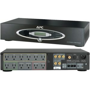 APC H15BLK 12-Outlet H-Type Rack-Mountable Power Conditioner