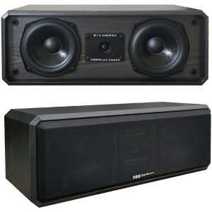 BIC America DV52CLRB 125-Watt 2-Way 3-Driver 5.25-Inch Center Channel Speaker