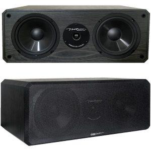 BIC America DV62CLR-S 175-Watt 2-Way 3-Driver 6.5-Inch Center Channel Speaker