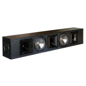 BIC America FH56-BAR Formula Series FH56-BAR Dual 6-1/2-Inch 625-Watt Patented Sound Bar with 5 Discrete Channels