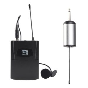 Blackmore Pro Audio BMP-15 Portable Dynamic Lapel Wireless UHF Microphone System