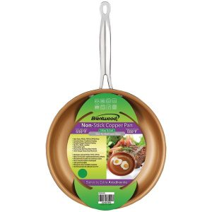 Brentwood Appliances BFP-328C Non-Stick Induction Copper Frying Pan (11-Inch)