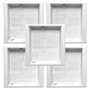 DataComm Electronics 80-1530-5-STACK 30-Inch Plastic Enclosure Boxes