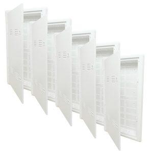 DataComm Electronics 80-1530-HC-5 30-Inch Plastic Hinge Doors
