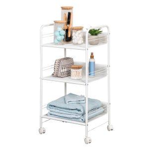 Honey-Can-Do CRT-08581 3-Shelf Rolling Wire Cart