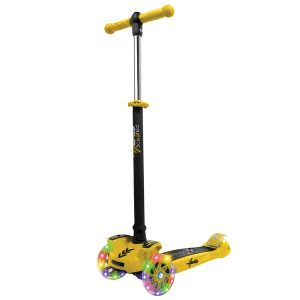 Hurtle HURFS49Y Mini Kids Toy Scooter (Yellow)