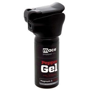 Mace Brand 80817 Night Defender Magnum 3 Pepper Gel with LED Light