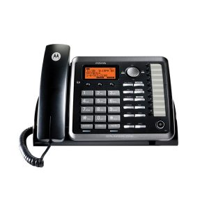 Motorola ML25254 ML25254 2-Line Corded Desk Phone Digital Answering System