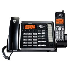Motorola ML25255 ML25255 2-Line Corded Desk Phone Digital Answering System