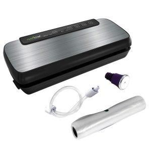 NutriChef PKVS20STS Automatic Vacuum Sealer System