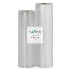 NutriChef PRTPKVS16RL Universal Combo Vacuum Sealer Bags
