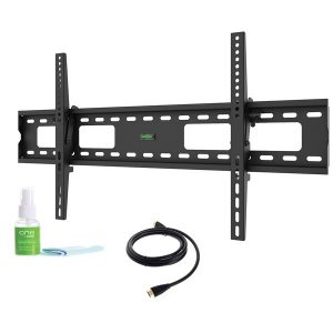 ONE by Promounts XLTMK XLTMK 50-Inch to 80-Inch Extra-Large Tilt TV Wall Mount Kit