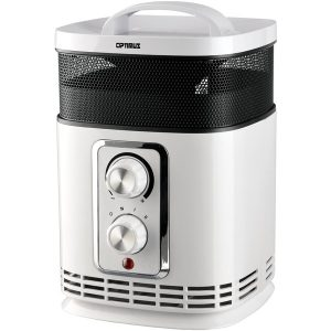 Optimus H-7232 Portable 360? Surround Ceramic Heater with Thermostat